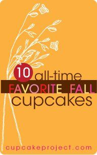My Ten Favorite Fall Cupcake Recipes