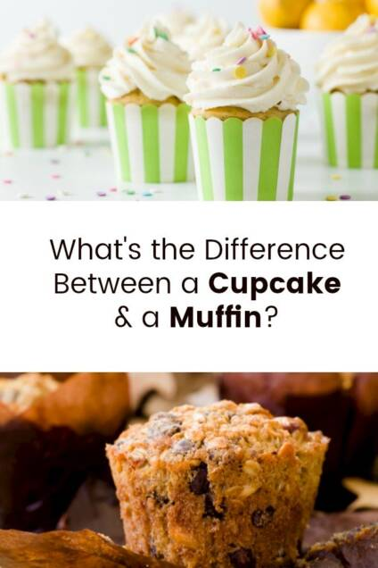 The Difference Between Cupcakes and Muffins