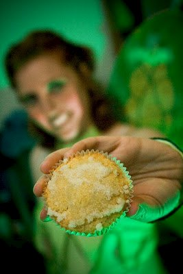 Absinthe Cupcakes: Brought to You By the Green Fairy