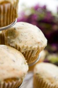 Lavender Pear Cupcakes with Vosges Bianca Ganache: A Tale of Two Groups of Tasters