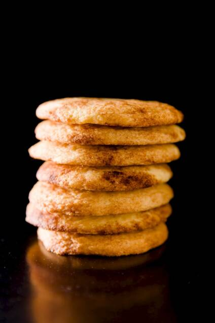 Simple Snickerdoodle Cookies Recipe