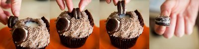 Oreo Cupcakes – With a Built-In Cup for Milk | Cupcake Project
