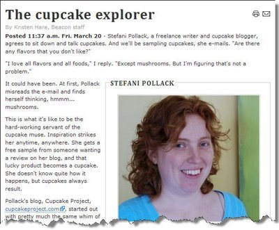 The Saint Louis Beacon Features Cupcakes – Including Mine
