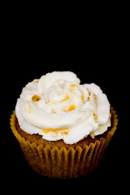 Maple Cinnamon Peach Ice Cream Cupcakes | Cupcake Project