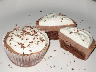 Hot Cocoa Ice Cream Cupcakes by Rachel Schill