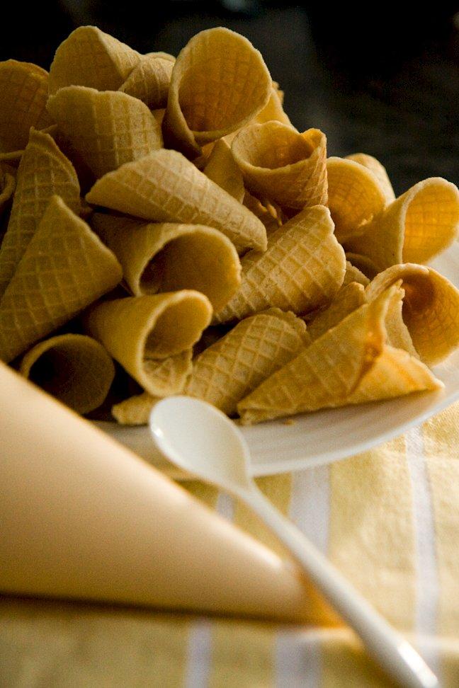 Waffle Cone Recipe | Cupcake Project