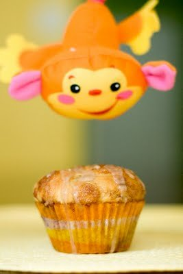 Monkey Bread Cupcakes with Banana and Chocolate