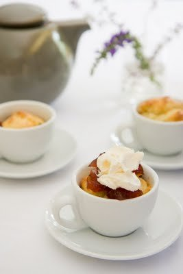 High Tea Cupcakes – Orange Cranberry Scones Baked in Teacups