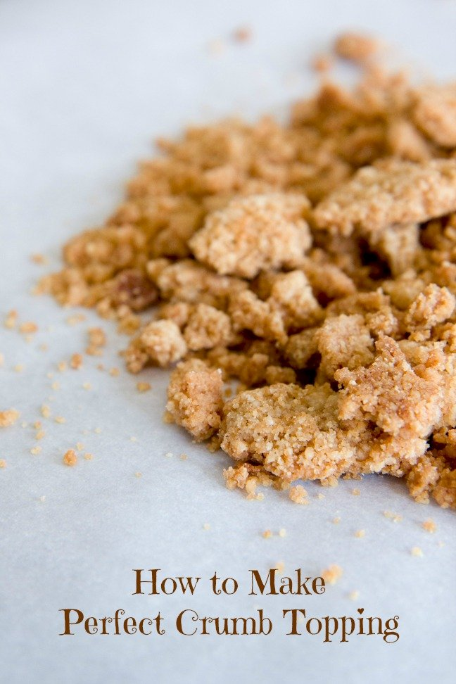 Coffee Cake Toppings Recipe