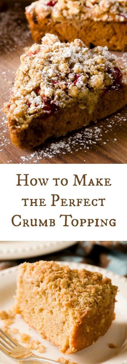 How to Make the Perfect Crumb Topping
