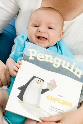 Cupcake Gift Idea: Penguin and the Cupcake