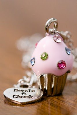 Cupcake Necklace Giveaway!