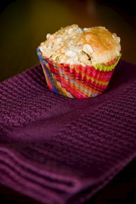 Maple Oatmeal Mustard Muffins