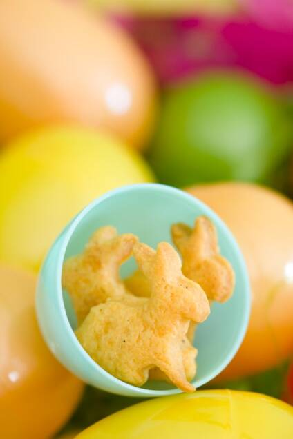 Goldbunny Crackers for Easter