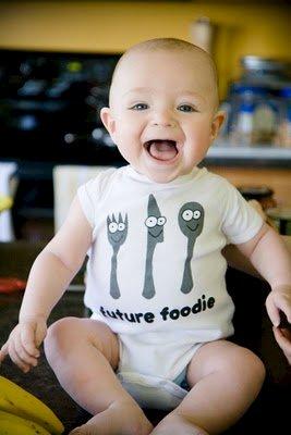 Future Foodie Onesie Giveaway