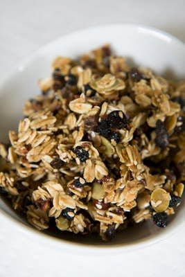 Blueberry Granola Recipe