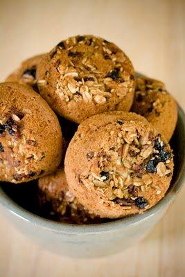 Granola Upside Down Cupcakes