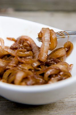 Grilled Onions with Balsamic Vinegar and Brown Sugar