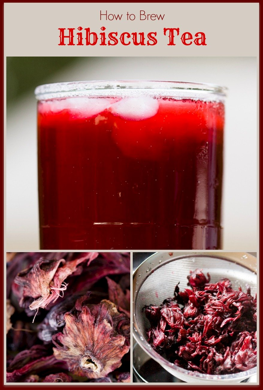Hibiscus tea brewed at home from dried hibiscus flowers cupcake hibiscus tea brewed at home from dried hibiscus flowers izmirmasajfo Images