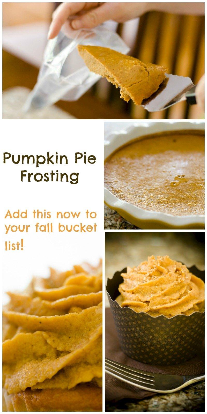 Pumpkin Pie Frosting