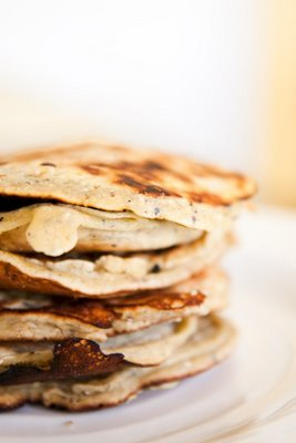 Pancake Recipe Using Blue Cornmeal and Orange – Different and Delicious
