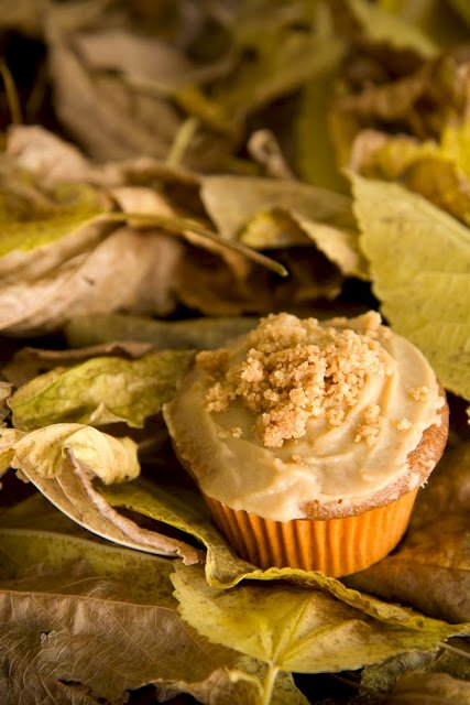 Sweet Potato Casserole Cupcakes 3 Ways