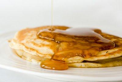 Malted Milk Pancakes