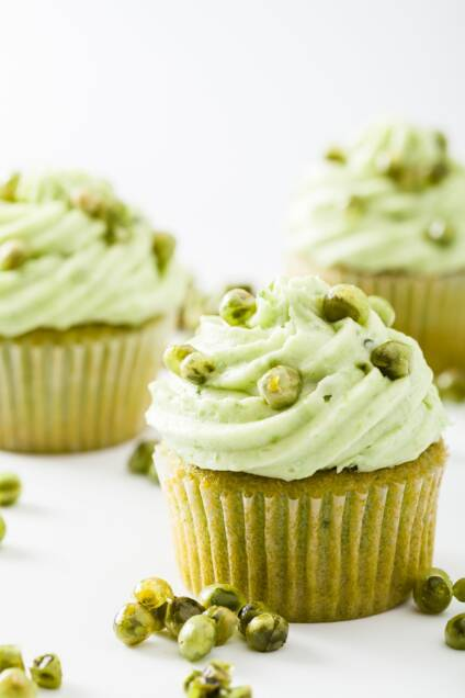 Sweet Pea and Ricotta Cupcakes – Give Peas a Chance