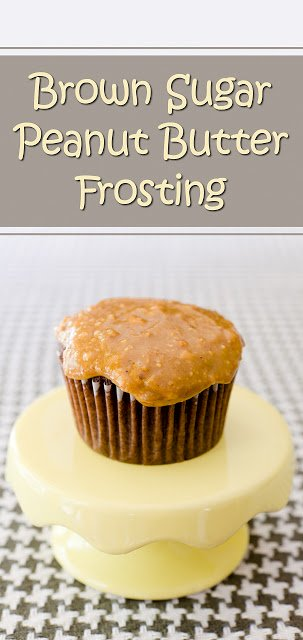 Brown Sugar Peanut Butter Frosting Recipe