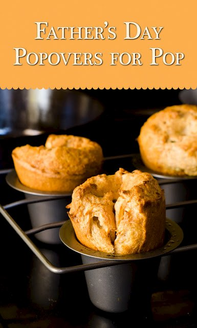 Father's Day Banana Nut Popovers for Pop