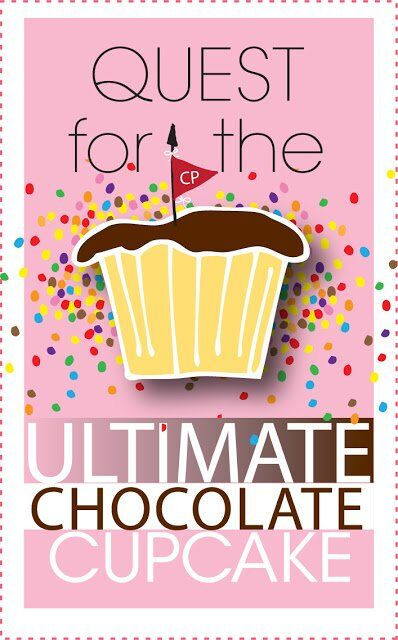 Quest for the Ultimate Chocolate Cupcake – Call for Explorers