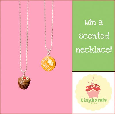Please Don't Eat Me – A Scented Necklace Giveaway from Tiny Hands