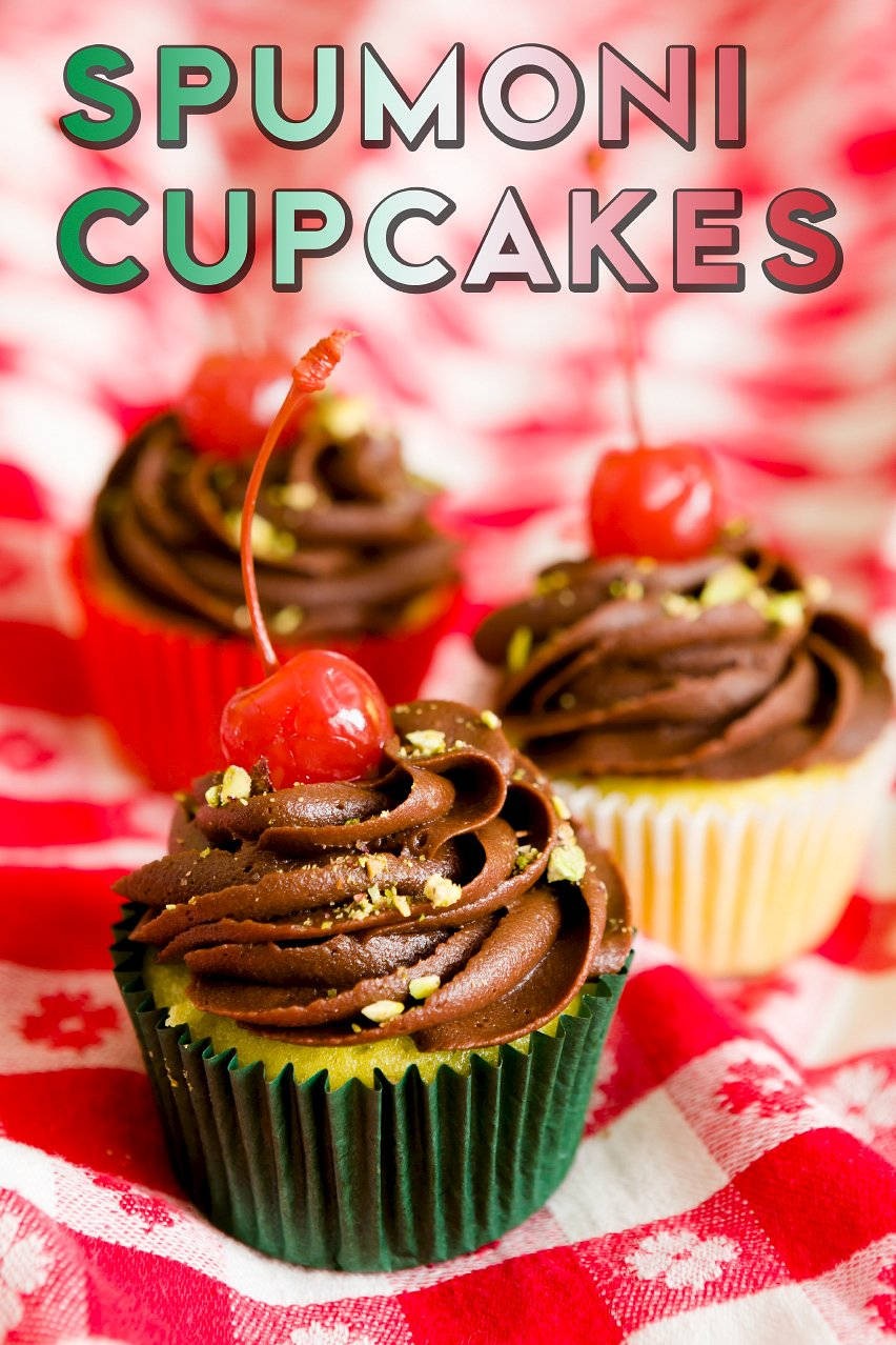One Bowl Spumoni Cupcakes | Cupcake Project