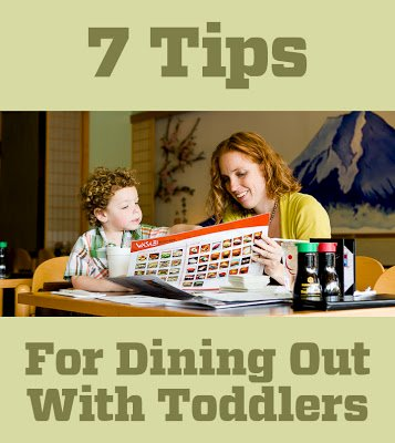 7 Tips for Dining Out with Toddlers