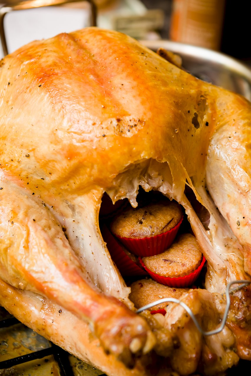... Cupcake Lover's Thanksgiving Turkey Should Be Stuffed with Cupcakes