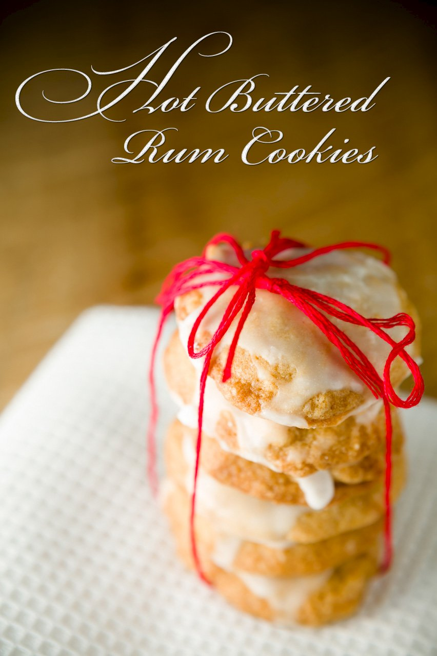 Hot Buttered Rum Cookies | Cupcake Project