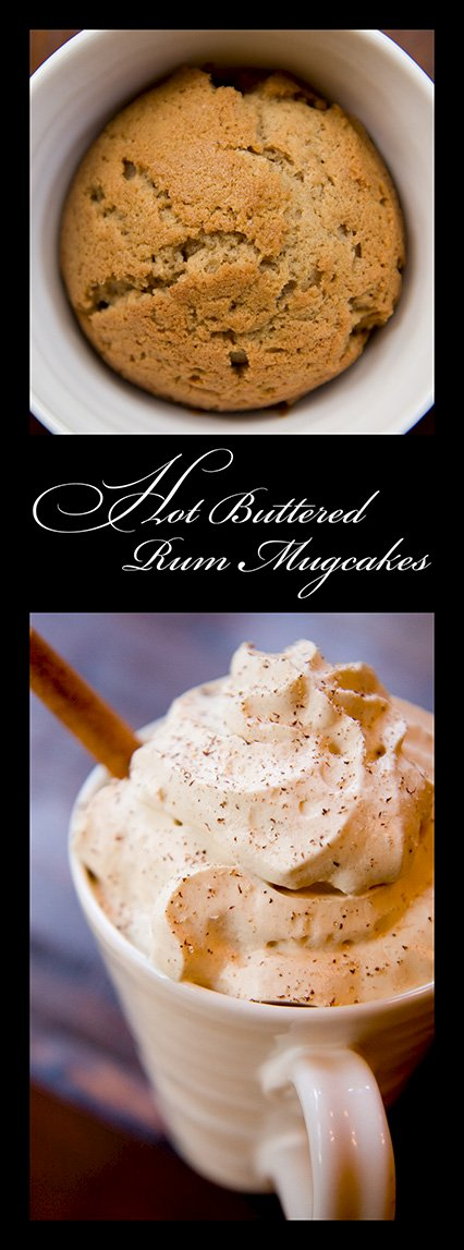 Hot Buttered Rum Mugcakes Recipe