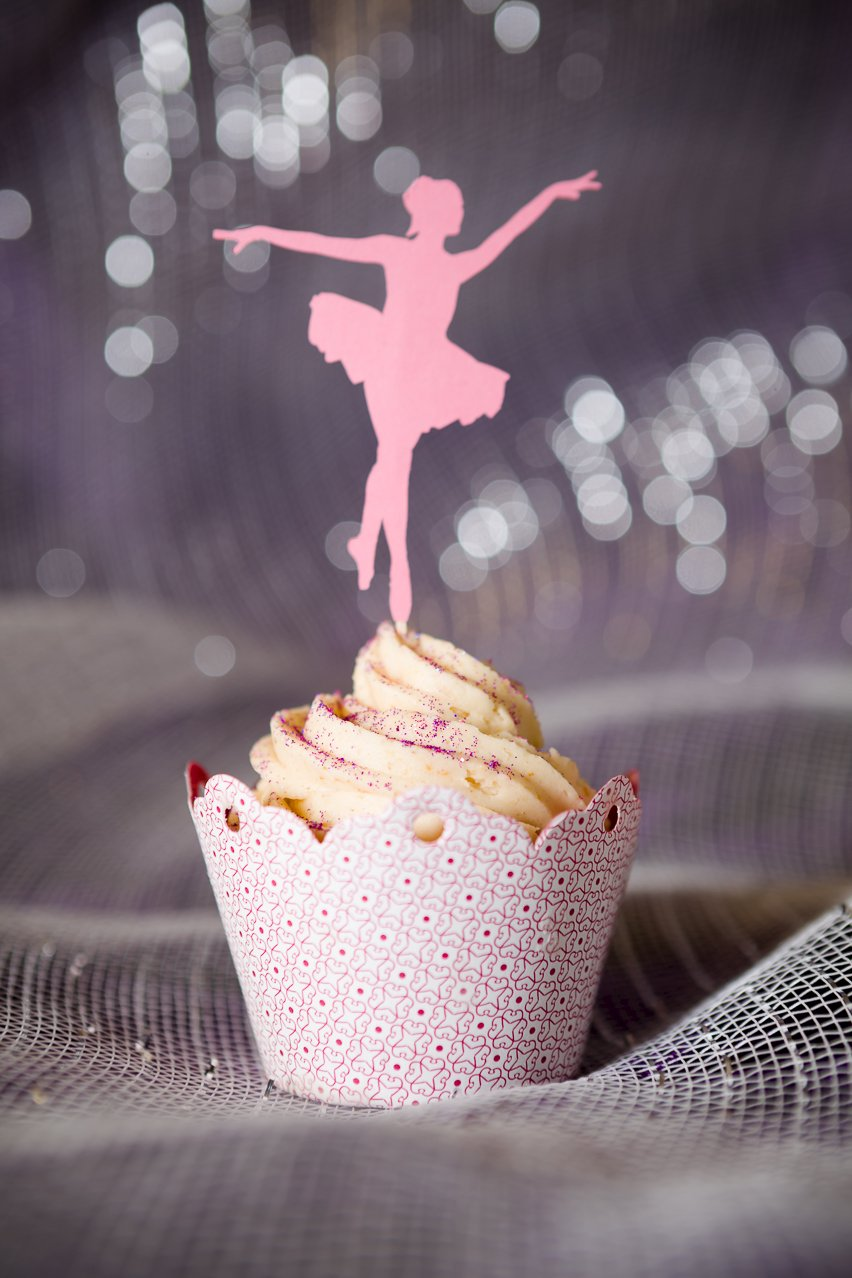 Magical Sugar Plum Fairy Cakes | Cupcake Project