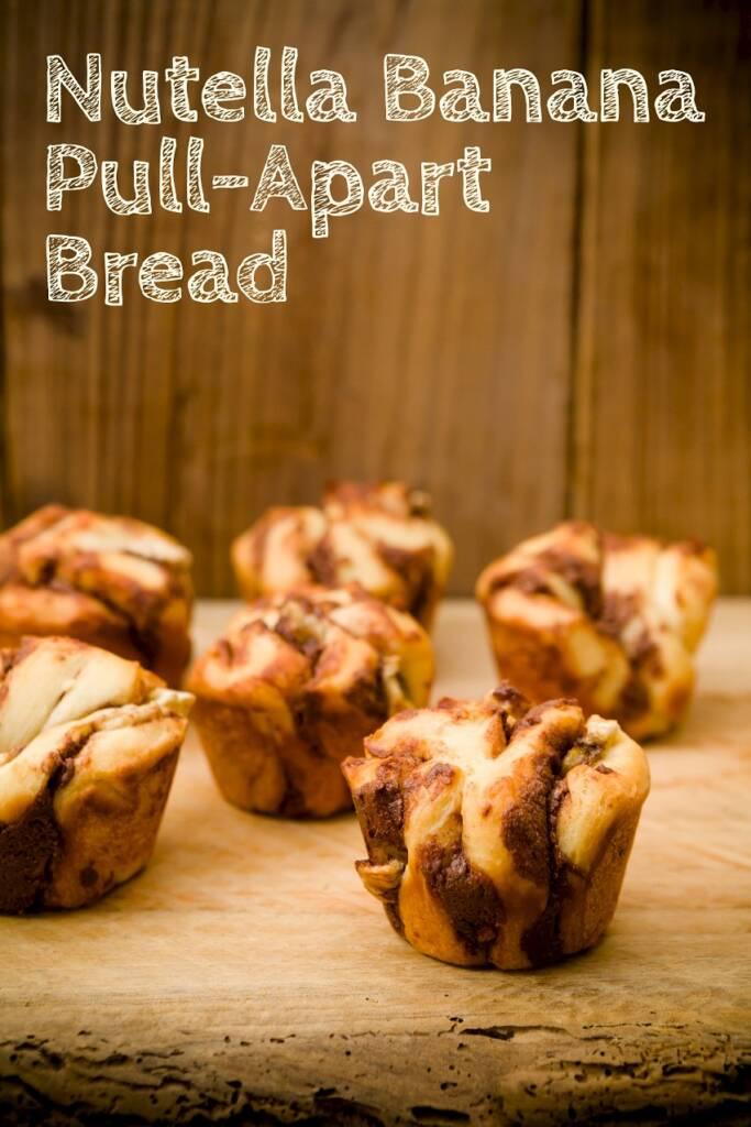 Nutella Banana Pull-Apart Bread | Cupcake Project