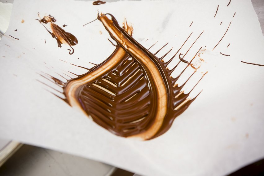 Cake Decorating Chocolate Leaves : Amazing 30 Second Chocolate Leaves Cupcake Project