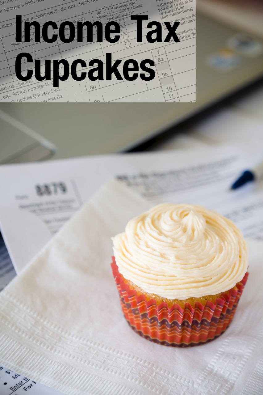 These income tax cupcakes are based on the classic cocktail that ...