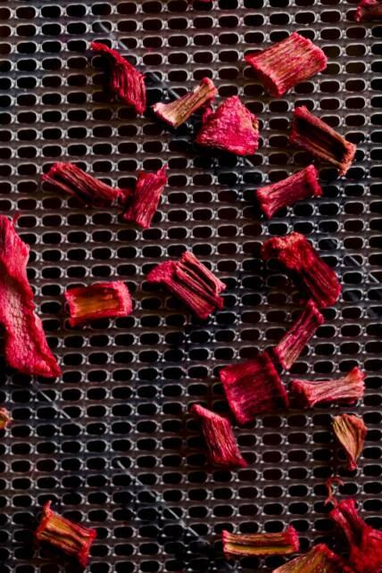 Dried Rhubarb