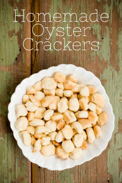 Homemade Oyster Crackers
