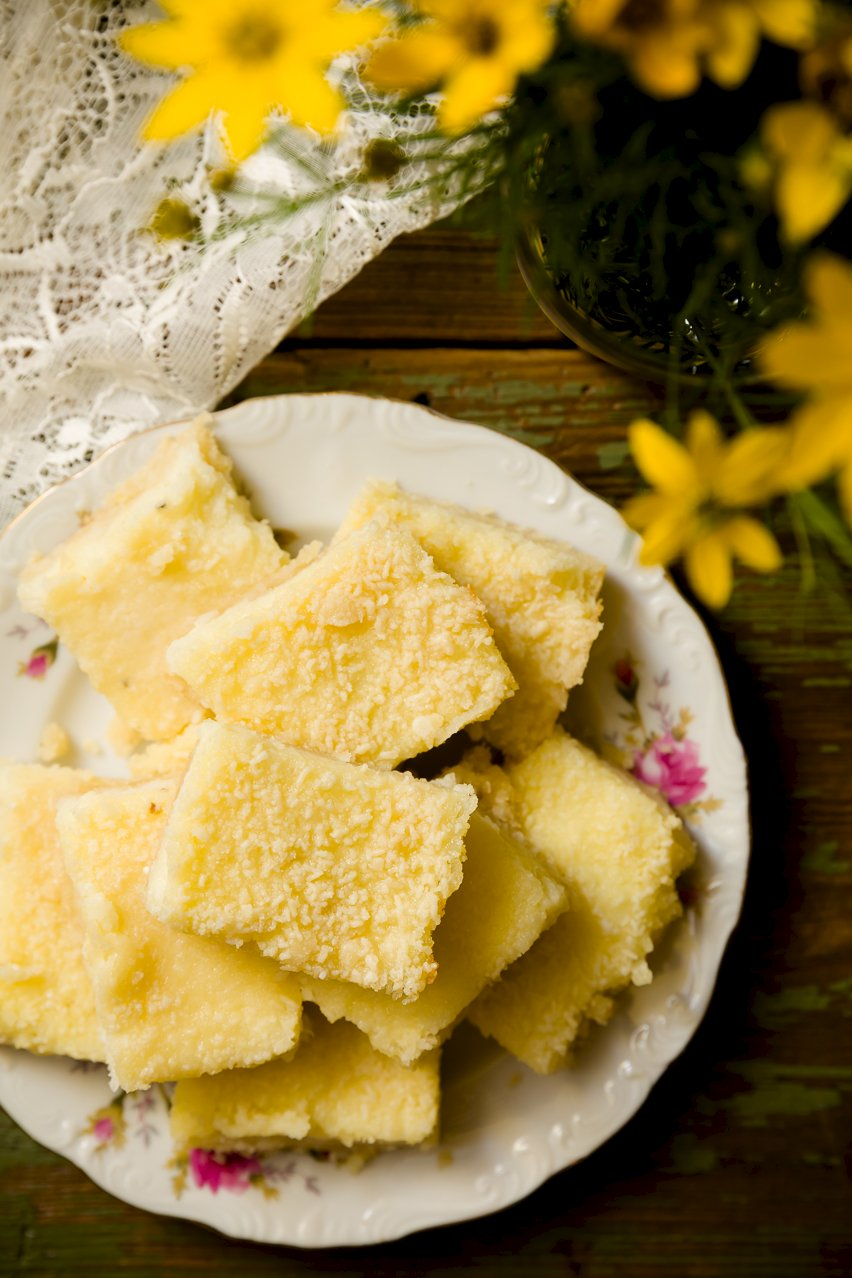 Sweet and Savory Parmesan Grits Bars – A New Southern Classic