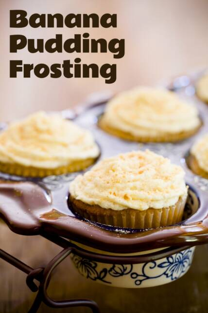 Banana Pudding Frosting