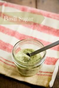 Basil Sugar