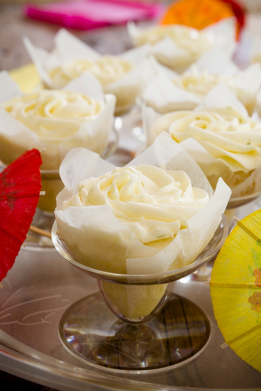 Margarita Cupcakes Shaped Like Margaritas | Cupcake Project