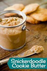 Snickerdoodle Cookie Butter