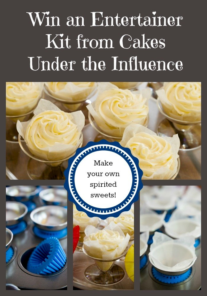 Win an Entertainer Kit from Cakes Under the Influence