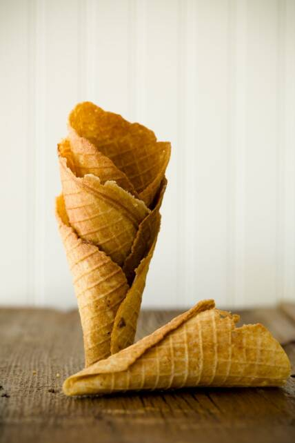 Graham Cracker Waffle Cones {Appreciation Post}